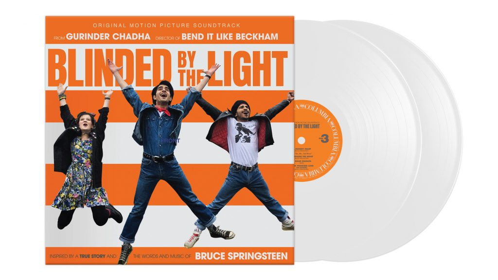 Blinded By The Light White LP