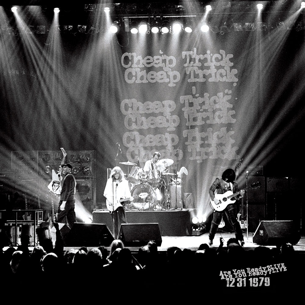 "Cheap Trick ""Are You Ready? Live"" RSD Vinyl 2019"
