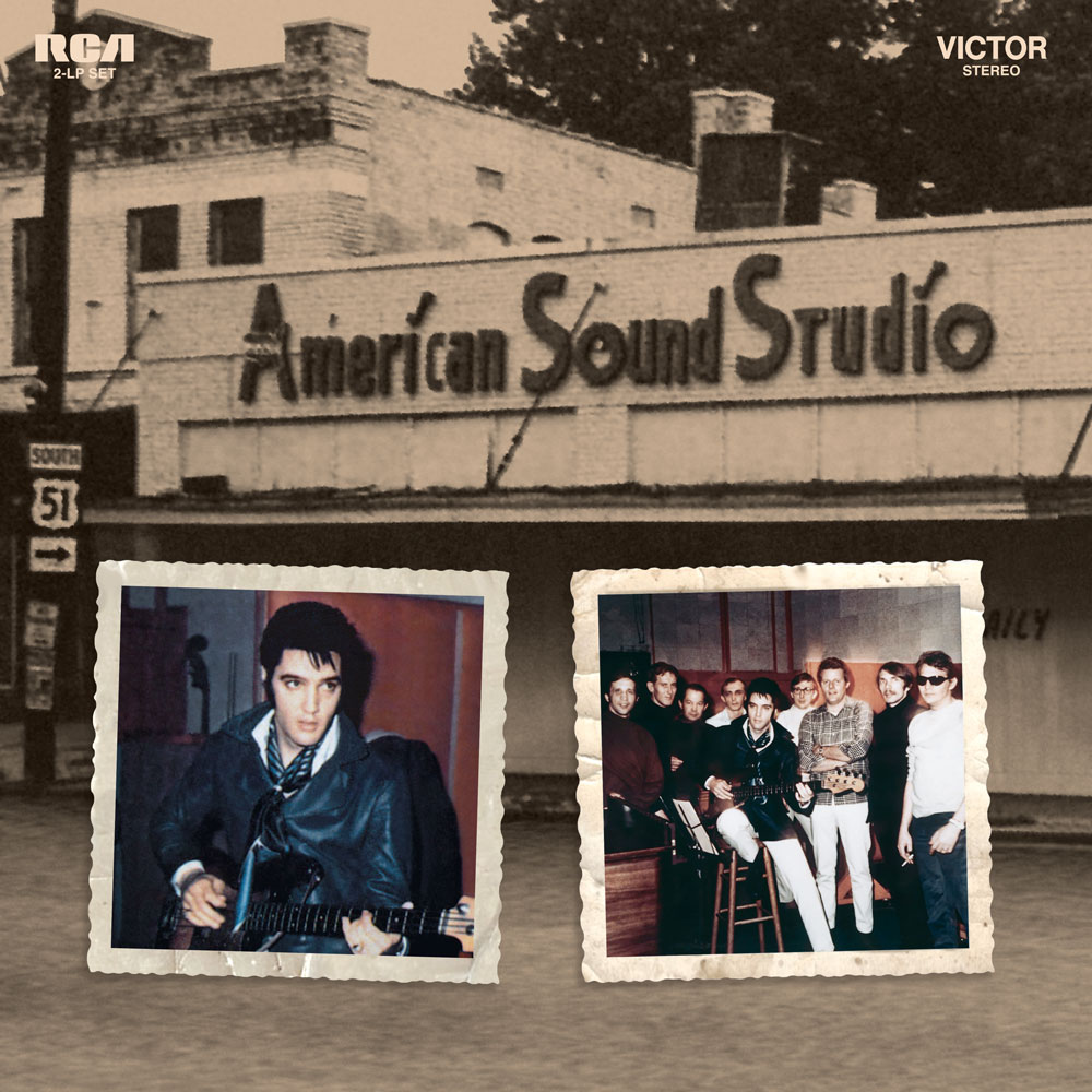 "Elvis Presley ""American Sound Studio 1969"" Vinyl LP"