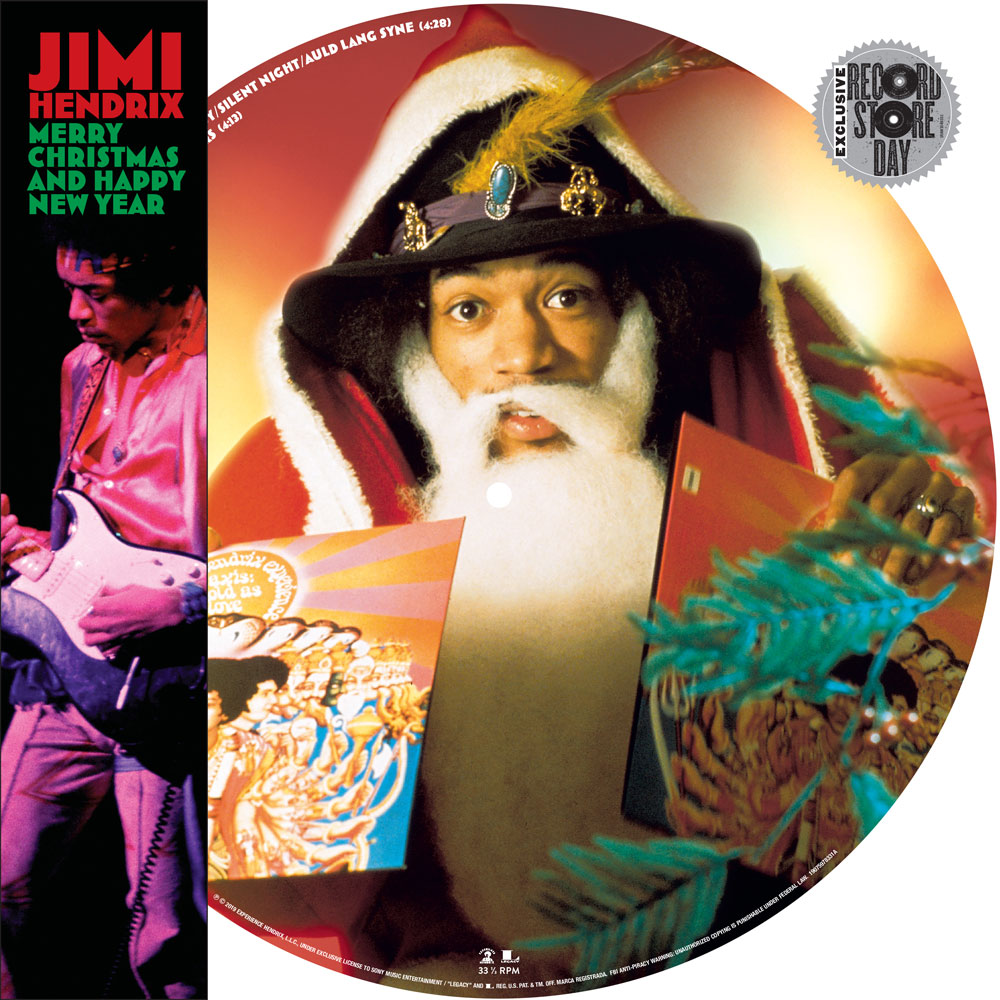 Jimi Hendrix Merry Christmas and a Happy New Year Vinyl exklusive