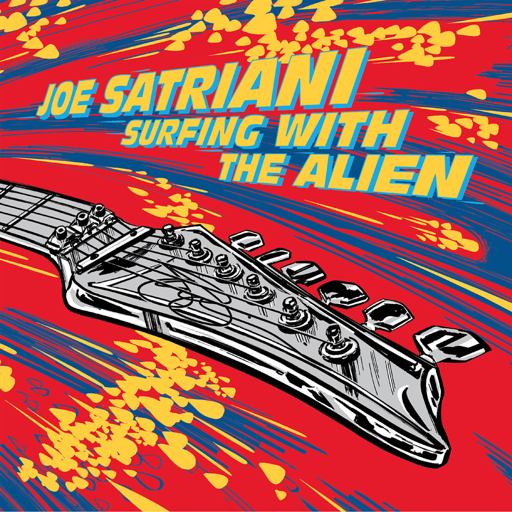Joe Satriani Surfing With The Alien Vinyl RSD 2019