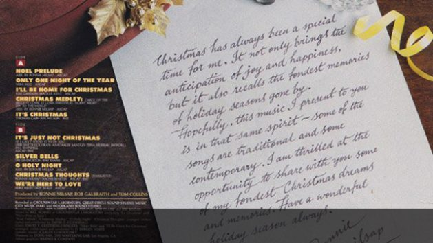 Ronnie Milsap - Christmas With Ronnie Milsap back cover