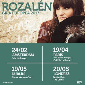 Nuevo concierto de Rozalén en Londres