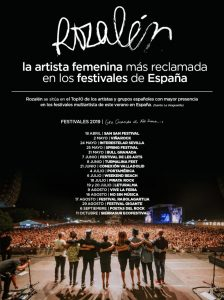 Rozalén: la artista femenina más reclamada en los festivales