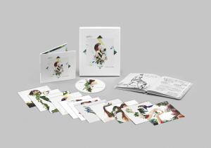 Imagen de edición especial con cuaderno de campo ilustrado del álbum El árbol y el bosque de Rozalén