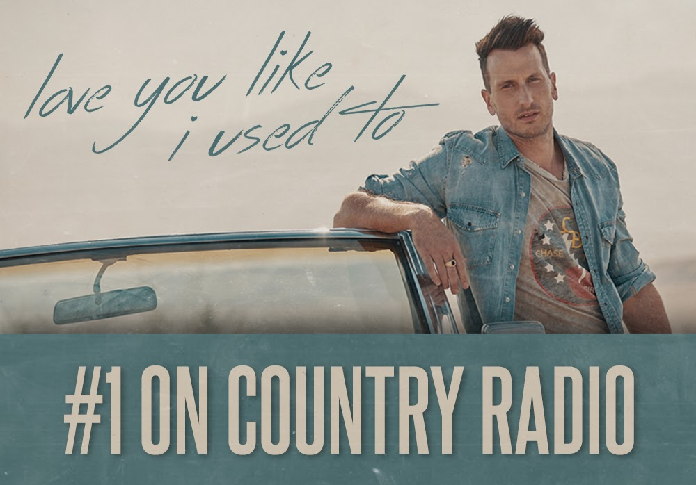 "Russell Dickerson earns fourth consecutive #1 single with ""Love You Like I Used To."""