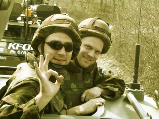 Kosovo : Camp Ville 14.4.2005