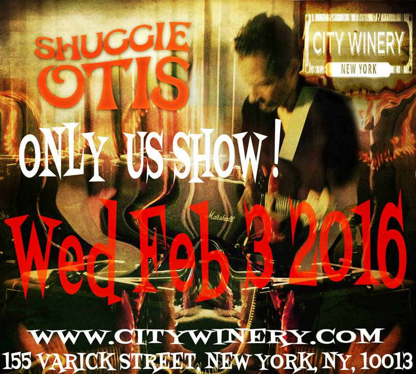 Shuggie Otis at City Winery NYC February 3, 2016
