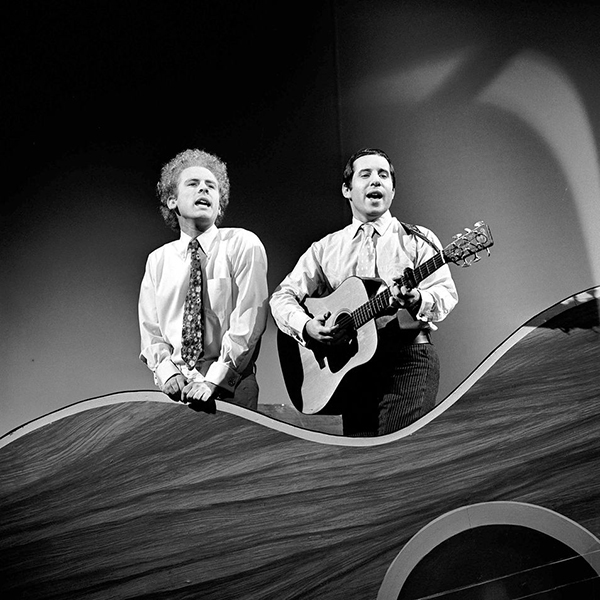Art Garfunkel and Paul Simon 1966