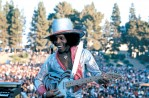 SLY STONE WITH GUITAR