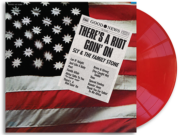 Sly & The Family Stone - There's A Riot Goin' On limited edition red vinyl