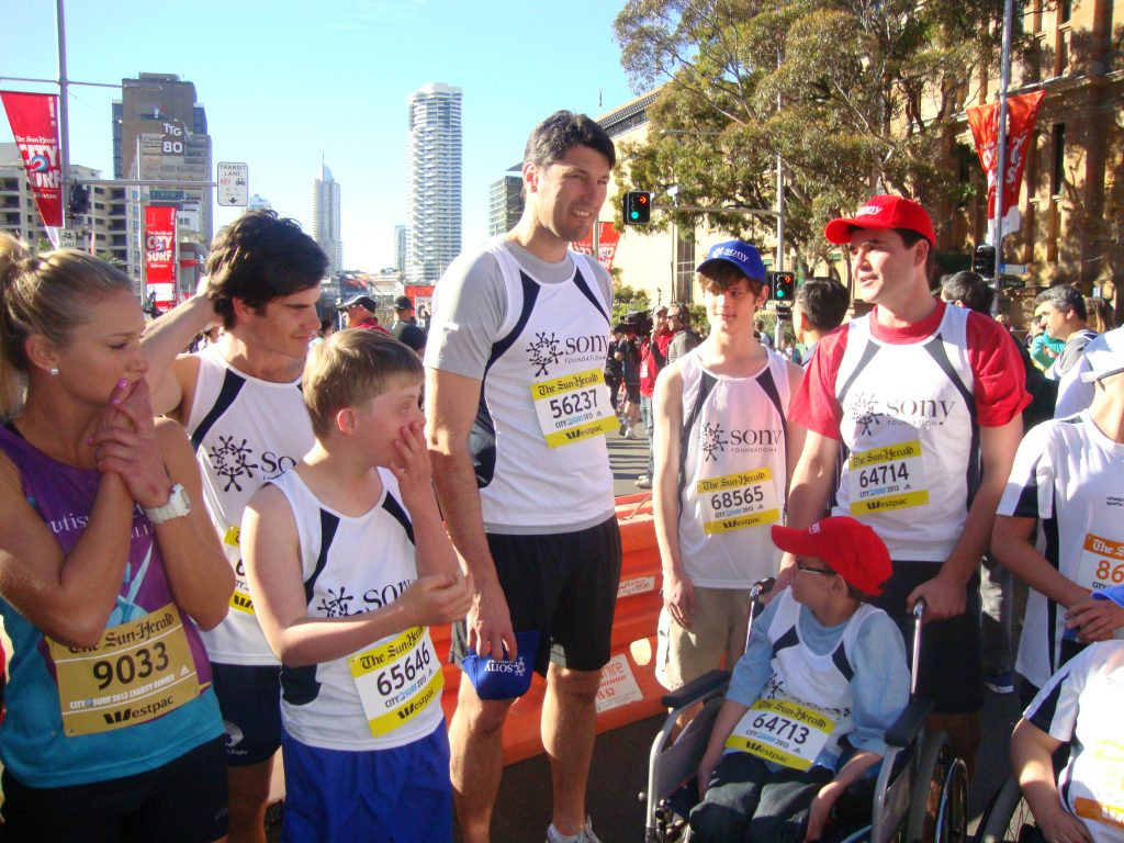 Join Team Sony Foundation at City2Surf 2019