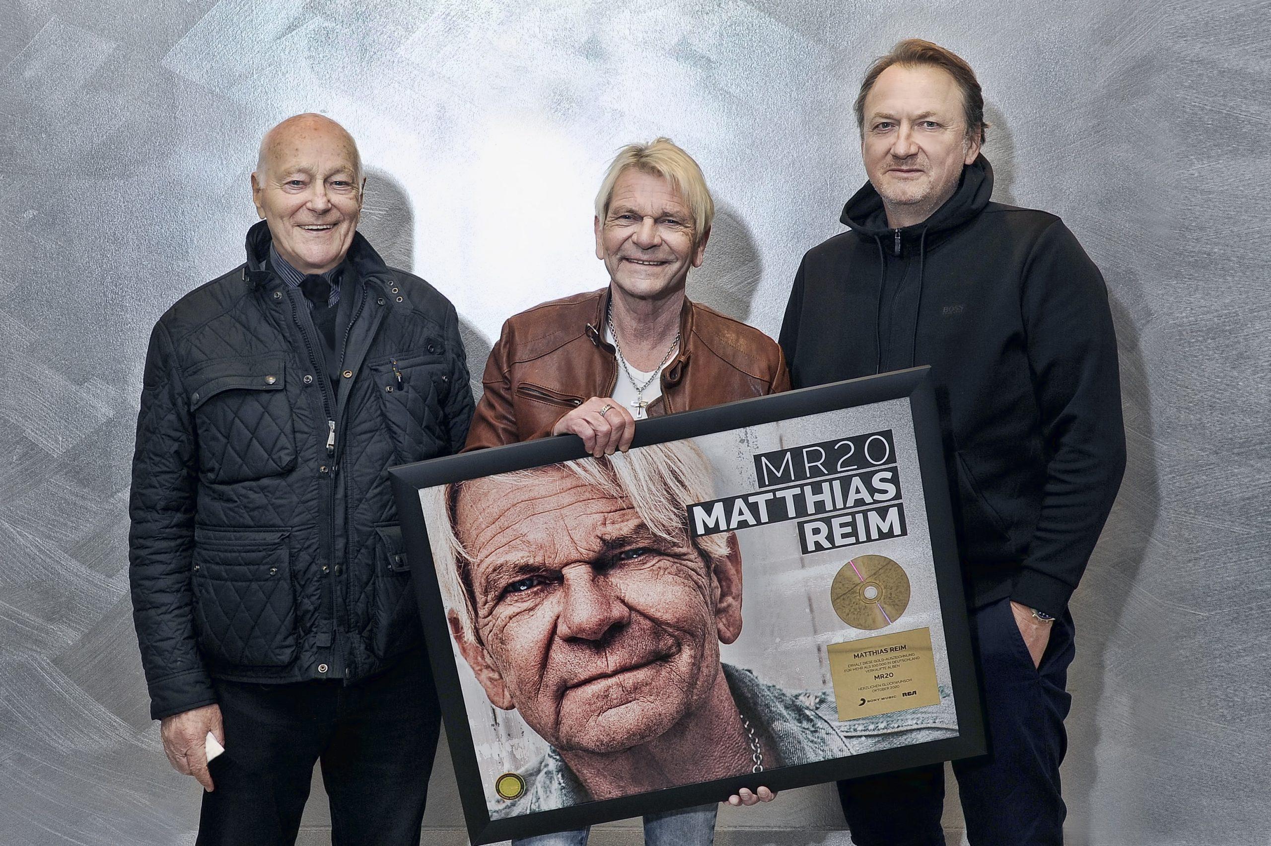 Gold für Matthias Reim