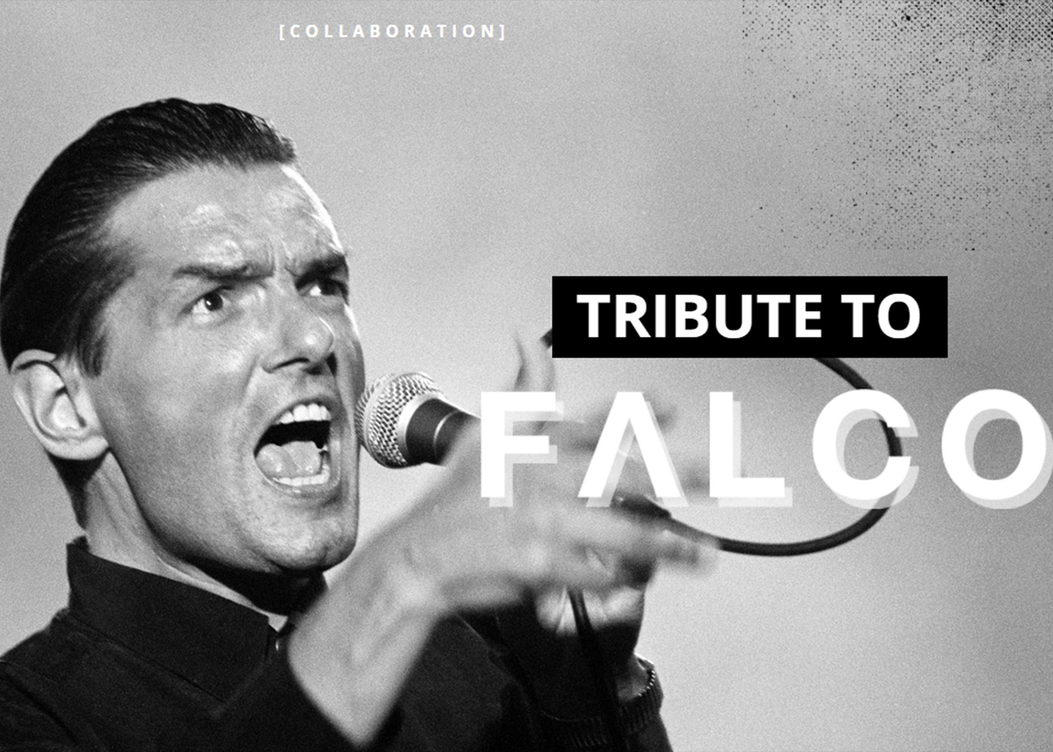 <strong>GLORYFY UNBREAKABLE feiert den KünstlerFALCO mit der unzerbrechlichen<br>TRIBUTE TO FALCO EDITION.</strong>