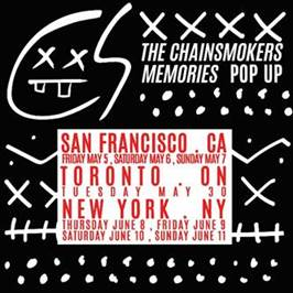 The Chainsmokers - Memories Pop Up