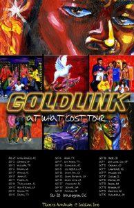 "GOLDLINK RELEASES ""CREW (REMIX)"" FEAT. GUCCI MANE, BRENT FAIYAZ & SHY GLIZZY"