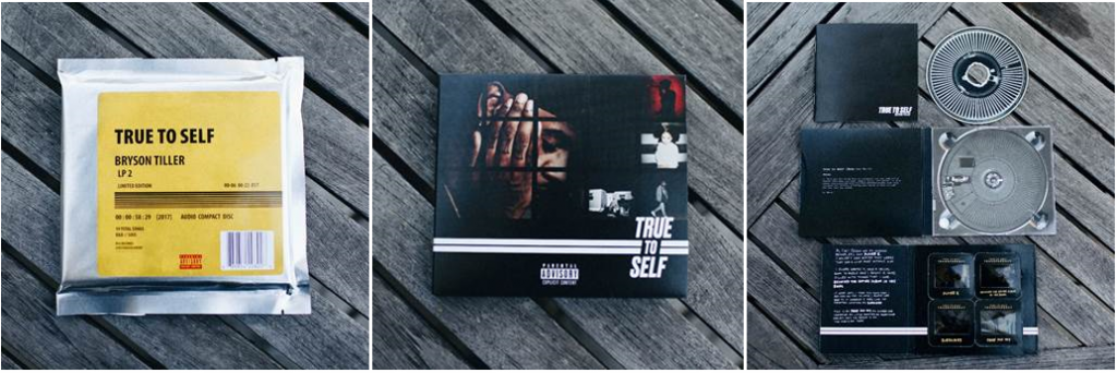 BRYSON TILLER'S SOPHOMORE ALBUM TRUE TO SELF AVAILABLE PHYSICALLY NOW