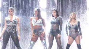 FIFTH HARMONY CELEBRATE ALBUM RELEASE WEEK WITH THEIR FIRST-EVER PERFORMANCE AT LAST NIGHT'S VMA AWARDS