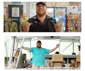 "LUKE COMBS HITS A STROKE OF GOOD LUCK IN NEW MUSIC VIDEO FOR ""WHEN IT RAINS IT POURS""  OUT TODAY"