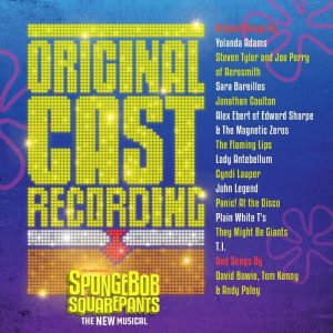 SpongeBob SquarePants – The New Musical ORIGINAL CAST RECORDING  AVAILABLE SEPTEMBER 22  FROM MASTERWORKS BROADWAY