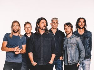 FOO FIGHTERS CONCRETE AND GOLD #1 IN CANADA, THE U.S., NINE MORE COUNTRIES & COUNTING
