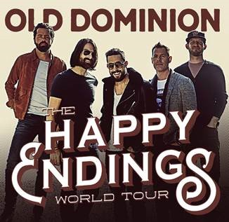 OLD DOMINION DOMINATE WESTERN CANADA ON HAPPY ENDINGS WORLD TOUR