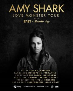 AMY SHARK RELEASES OFFICIAL VIDEO FOR 'I SAID HI' TODAY