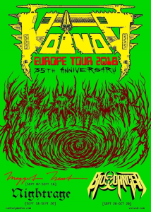 "VOIVOD – Announce new album ""The Wake"" and European tour!"