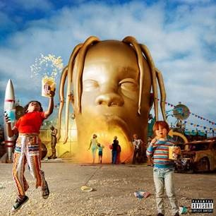 TRAVIS SCOTT CAPTURES #1 WITH ASTROWORLD