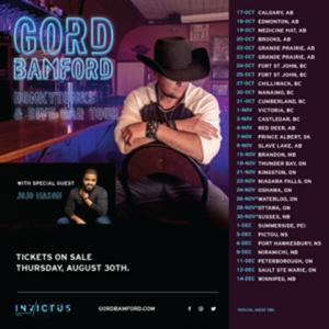 Canadian Country Star Gord Bamford Announces Honkytonks & Dive Bar Tour