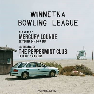 Winnetka Bowling League Debut EP Out Now