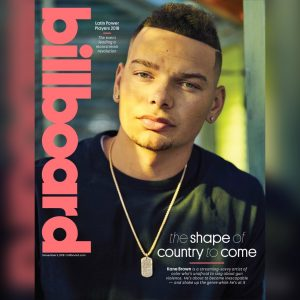 Kane Brown Billboard cover story