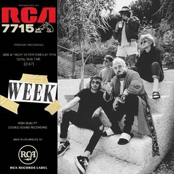 Cover art for 7715's single 'Week'