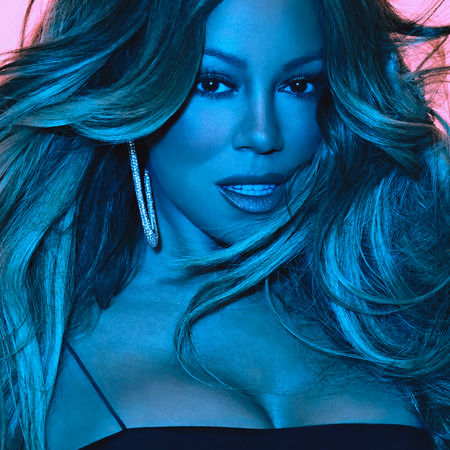 Cover art for Mariah Carey's new album Caution