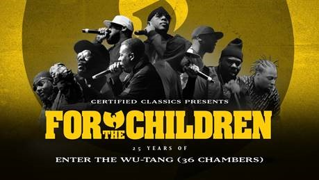 Artwork for the 25th anniversary of 'Enter the Wu-Tang (36 Chambers)'