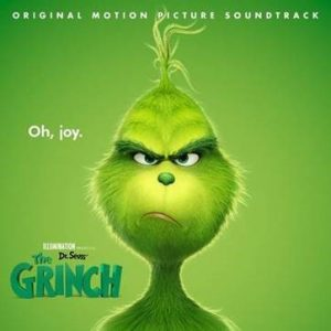 Album artwork for the Grinch motion picture soundtrack