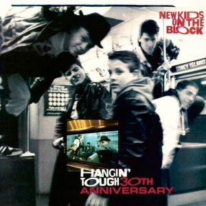 30th anniversary Album Art for New Kids on the Block's Hangin' Tough