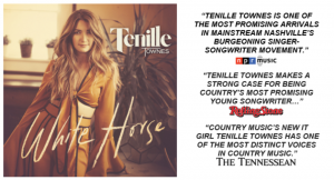 """TENILLE TOWNES' """"WHITE HORSE"""" OUT TODAY"""
