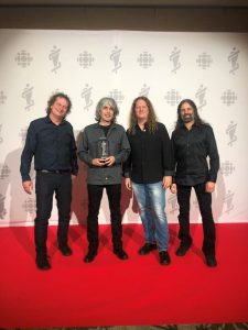 VOIVOD – Win 1st JUNO Award In Bands 35 year History. Commence North American Tour. Canadian Stops in Toronto, Vancouver and Montreal