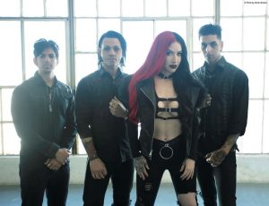 """NEW YEARS DAY – Premiere American Psycho Inspired Music Video For """"Shut Up"""" On YouTube. Montreal and Toronto Tour Stops Announced for Early July"""