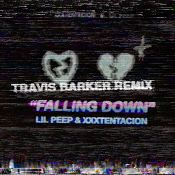 "TRAVIS BARKER'S REMIX OF LIL PEEP AND XXXTENTACION'S ""FALLING DOWN"" RELEASED"