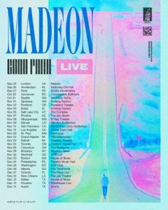 MADEON ANNOUNCES FALL HEADLINE TOUR