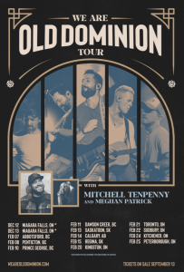 Old Dominion Tour Dates poster