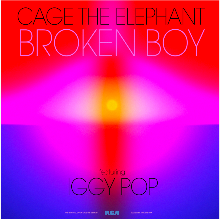 "CAGE THE ELEPHANT DEBUTS ""BROKEN BOY"" FEATURING IGGY POP"