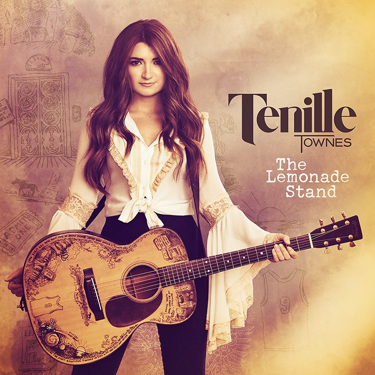 TENILLE TOWNES' DEBUT ALBUM THE LEMONADE STAND OUT JUNE 26