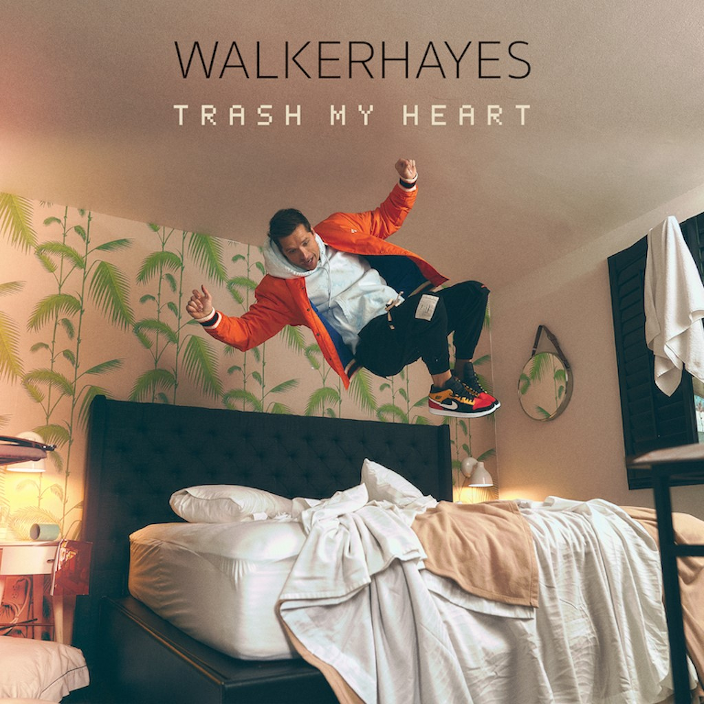 "WALKER HAYES RELEASES NEW SINGLE ""TRASH MY HEART"""