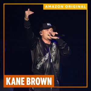 AMAZON MUSIC TO RELEASE EXCLUSIVE KANE BROWN MINI-DOCUMENTARY AND AMAZON ORIGINAL LIVE EP ON FEB. 20