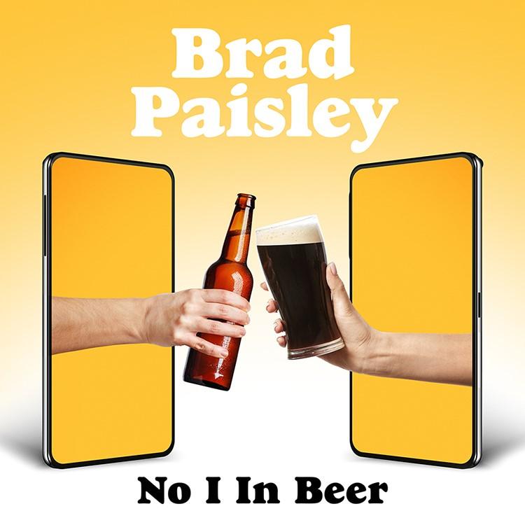Brad Paisley single cover