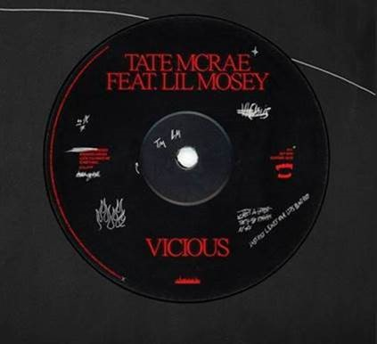 "TATE MCRAE RELEASES NEW TRACK ""vicious"" FT. LIL MOSEY TODAY"