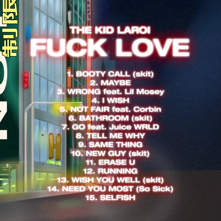 EMERGING SIXTEEN YEAR OLD PRODIGY THE KID LAROI RELEASES DEBUT MIXTAPE F*CK LOVE TODAY